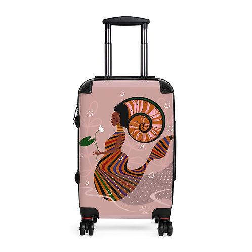 Aqua Queen Cabin Suitcase