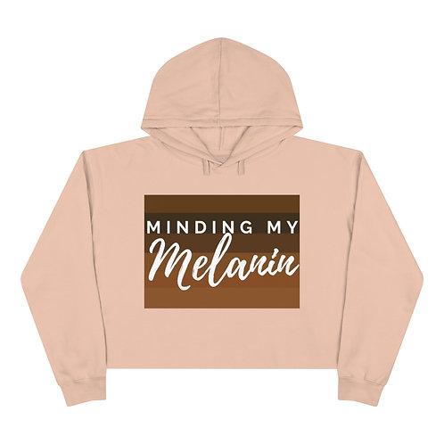 Minding My Melanin Cropped Hoodie