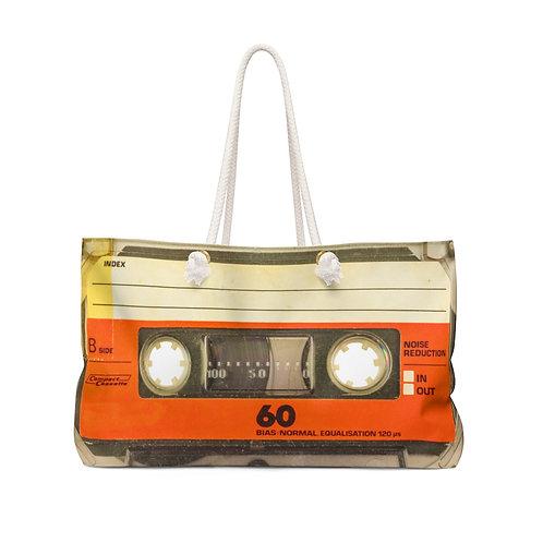 80s Cassette Weekender Bag