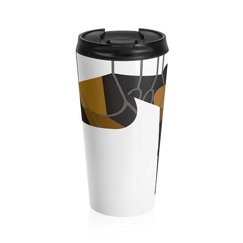 Whipped Stainless Steel Travel Mug