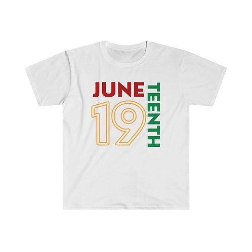 June 19 Unisex Softstyle T-Shirt