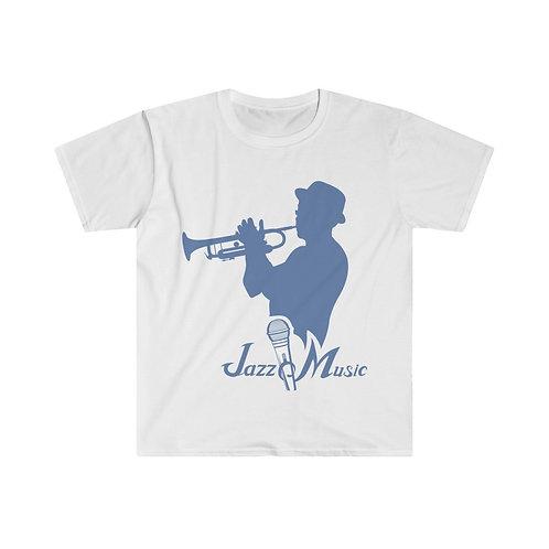 Jazz Music Unisex Softstyle T-Shirt