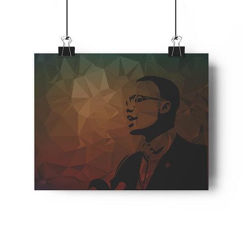 Malcolm X Giclée Art Print
