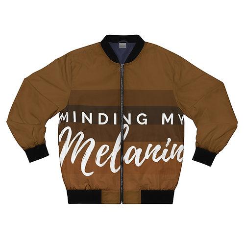 Minding My Melanin Bomber Jacket