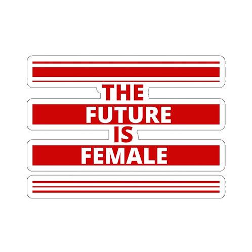 The Future is Female Kiss-Cut Sticker
