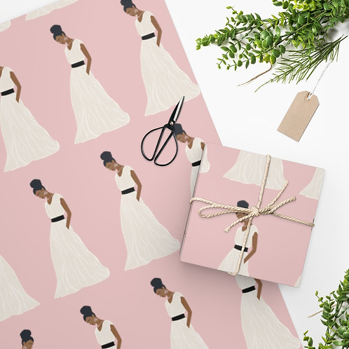 Queen Vibes Wrapping Paper