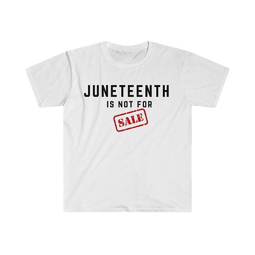 Juneteenth NFS Unisex Softstyle T-Shirt