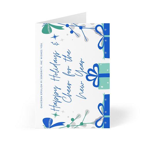OEPI Holiday Cheer Greeting Cards (8 pcs)