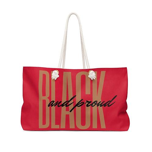 Proudly Black Weekender Bag