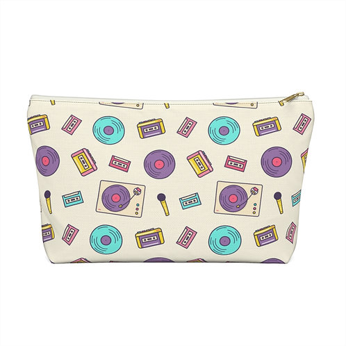Music Mix Accessory Pouch w T-bottom