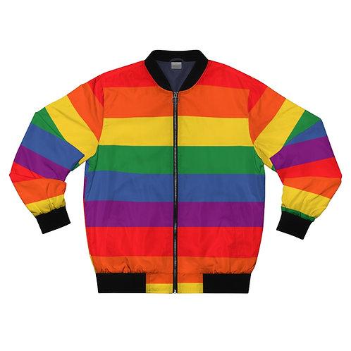 Rainbow Bomber Jacket