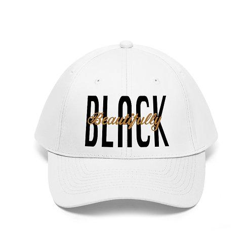 Beautifully Black Unisex Twill Hat