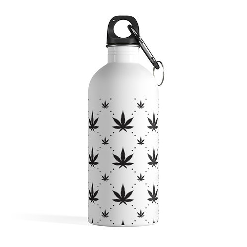 Canna Stainless Steel Water Bottle