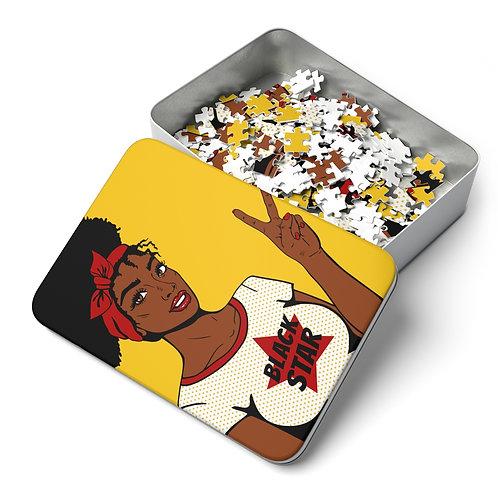 Black Star 252 Piece Puzzle