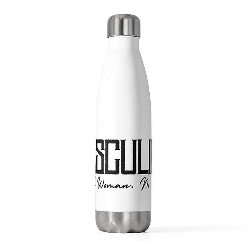Masculine 20oz Insulated Bottle