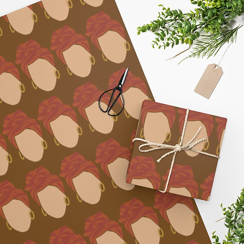 Covered Wrapping Paper