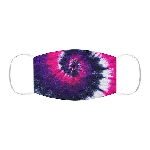 Pink & Purple Tie Dye Face Mask