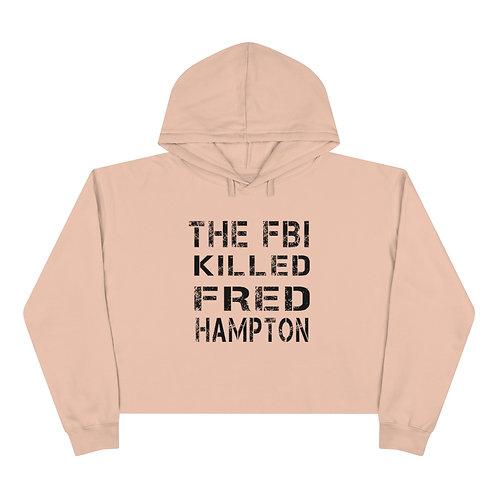 Fred Hampton Cropped Hoodie