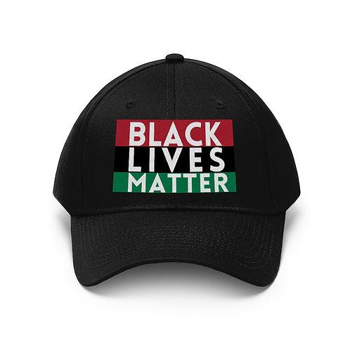 Black Lives Matter Unisex Twill Hat