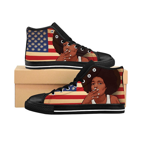 She Canna Men's High-top Sneakers