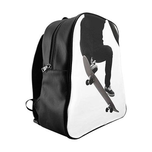 Nothing But Board Skateboard Book Bag