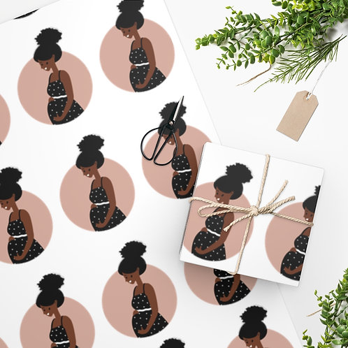 Beautiful Delivery Wrapping Paper