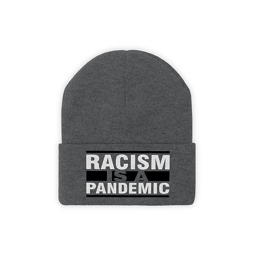 Racism Pandemic Knit Beanie