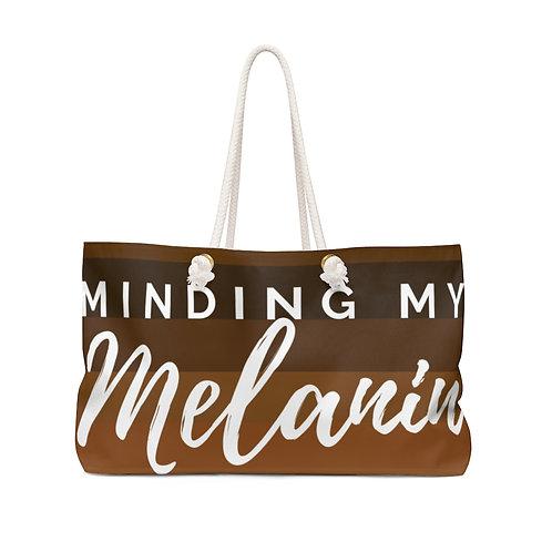 Minding My Melanin Weekender Bag