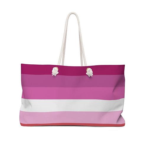 Lesbian Pride Weekender Bag