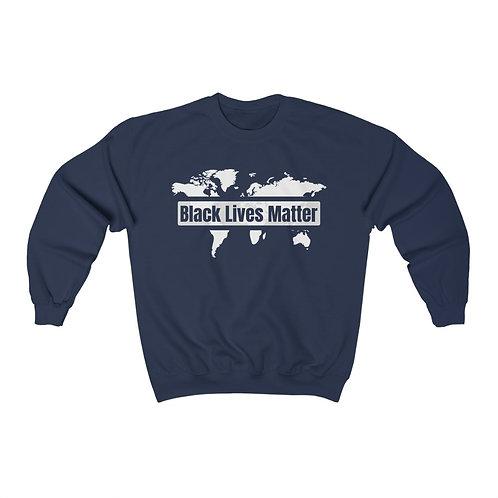 Global Black Lives Matter Unisex Heavy Blend Crewneck Sweatshirt