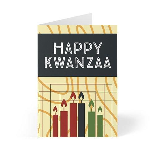 Happy Kwanzaa Greeting Cards (8 pcs)