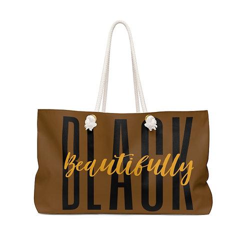 Beautifully Black Weekender Bag