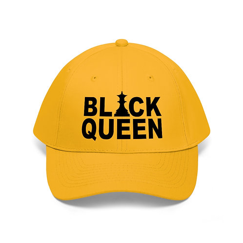 Black Queen Unisex Twill Hat
