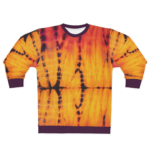 Sunset Tie Dye Print Sweatshirt