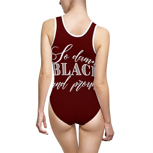 So Black & Proud Classic One-Piece Swimsuit