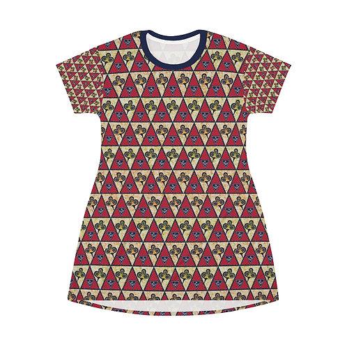 Vintage Triangle T-Shirt Dress
