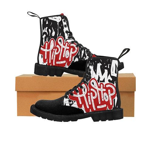 Hip-Hop Men's Canvas Boots