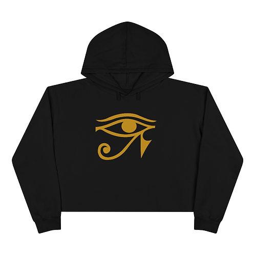 Eye of Horus Cropped Hoodie