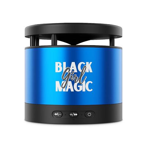 Black Girl Magic Metal Bluetooth Speaker and Wireless Charging Pad