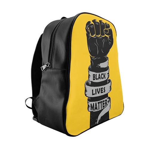 Black Lives Matter School Backpack