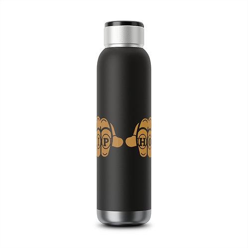 Hip Hop Fist Soundwave Copper Vacuum Audio Bottle 22oz