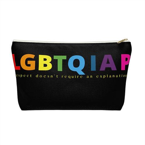 LGBTQIA Accessory Pouch w T-bottom