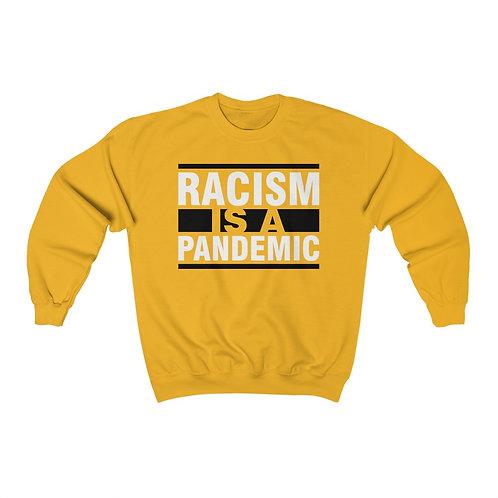 Racism Pandemic Unisex Heavy Blend™ Crewneck Sweatshirt