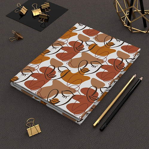 Beautifully Black Hardcover Journal - Matte