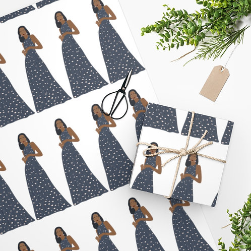 Fashionista Wrapping Paper
