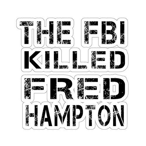 Fred Hampton Kiss-Cut Sticker