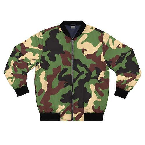Camoflage Bomber Jacket