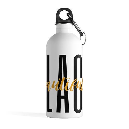 Beautifully Black Stainless Steel Water Bottle