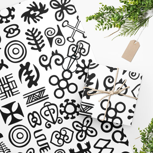 Adinkra Wrapping Paper