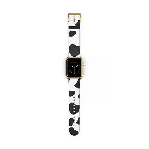 Cow Print Apple Watch Band